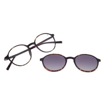 Armação Para Óculos de Grau Feminino Chilli Beans Multi Polarizado Tartaruga LV.MU.0480-2006