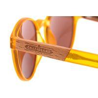 Óculos de Sol Unissex Beer Redondo Wood Caramelo OC.CL.3314-0203.5