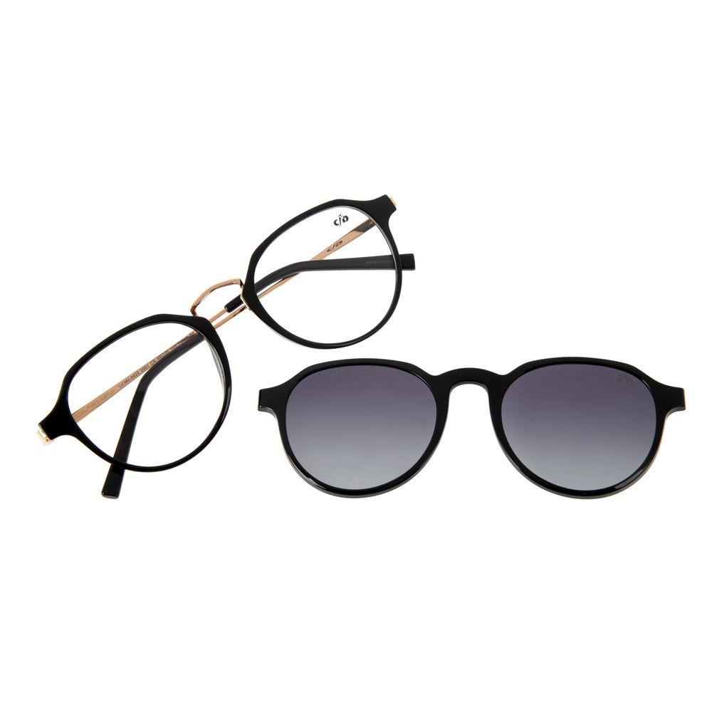 Armação Para Óculos de Grau Feminino Chilli Beans Multi Polarizado Preto LV.MU.0422-2001