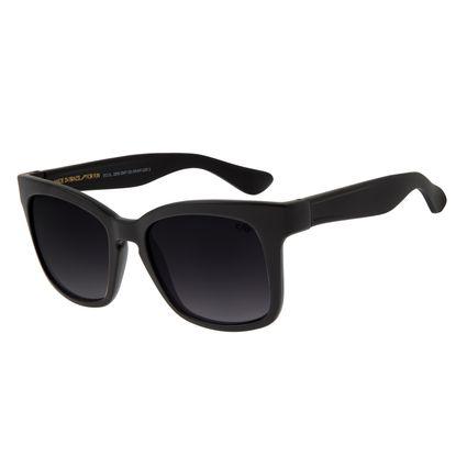 Óculos de Sol Feminino Chilli Beans Quadrado Fosco Fumê OC.CL.2200-2005