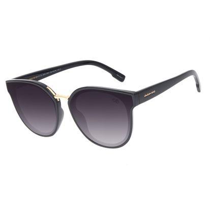 Óculos de Sol Feminino Chilli Beans Redondo Classic Degradê Preto OC.CL.3204-2001