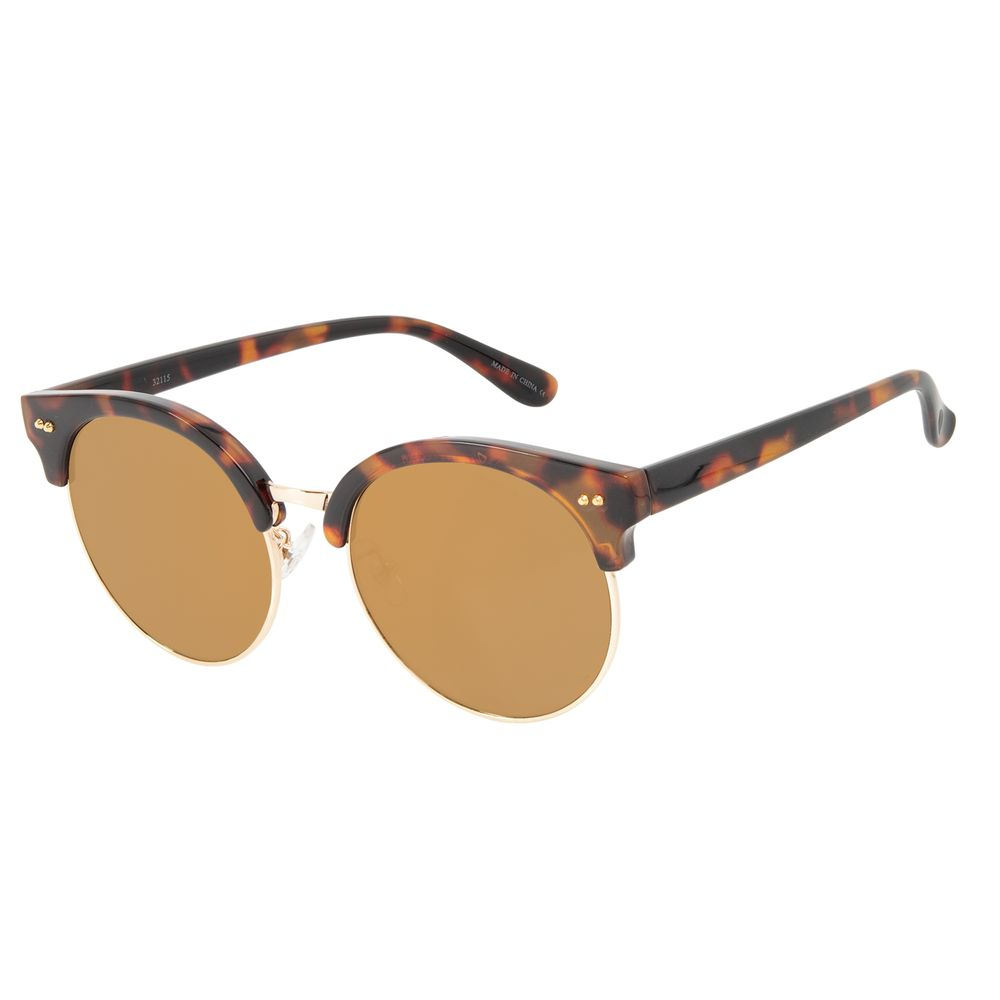 Óculos de Sol Feminino Chilli Beans Jazz Tartaruga OC.CL.3288-2121