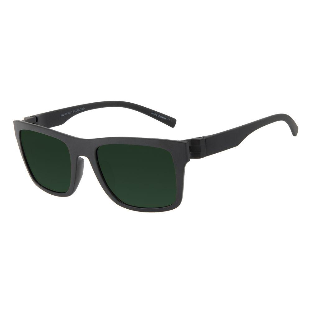 Óculos de Sol Masculino Chilli Beans New Sport Polarizado Verde OC.ES.1268-1501