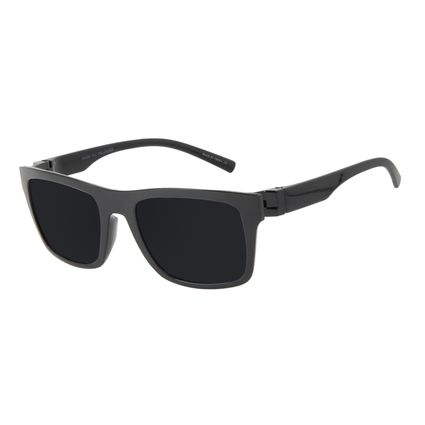 Óculos de Sol Masculino Chilli Beans New Sport Polarizado Preto OC.ES.1268-0101