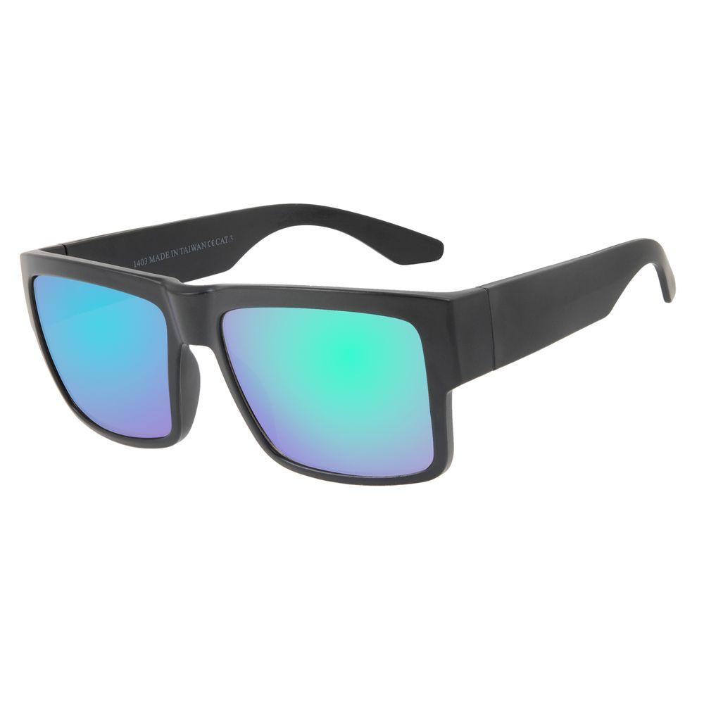 Óculos de Sol Masculino Chilli Beans New Sport Verde Espelhado OC.ES.1269-2501