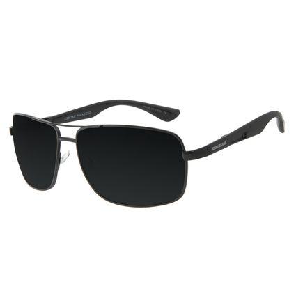 Óculos de Sol Masculino Chilli Beans Executivo Preto Polarizado OC.MT.3092-0101