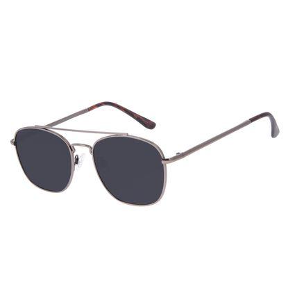 Óculos de Sol Unissex Chilli Beans Executivo Ônix Polarizado OC.MT.3094-0122