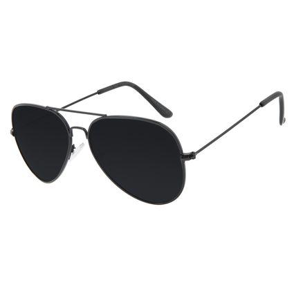 Óculos de Sol Masculino Chilli Beans Aviador Preto Polarizado OC.MT.3096-0101