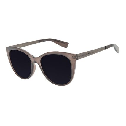 Óculos de Sol Feminino Chilli Beans Redondo Preto OC.CL.3243-0101