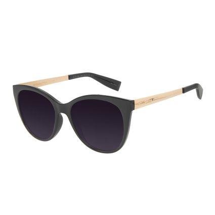 Óculos de Sol Feminino Chilli Beans Redondo Degradê Preto OC.CL.3243-2001