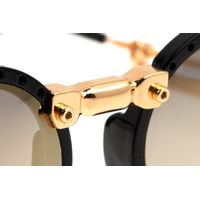 Óculos de Sol Unissex Alok Tech In Style Icônico Steampunk Fashion Preto OC.CL.3293-2001.7