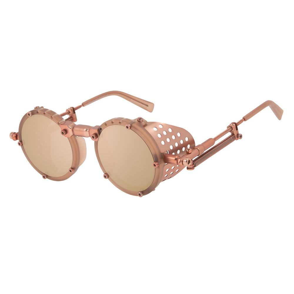 Óculos de Sol Unissex Alok Icônico Steampunk Fashion Rosé OC.CL.3293-5495