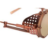 Óculos de Sol Unissex Alok Icônico Steampunk Fashion Rosé OC.CL.3293-5495.6-2