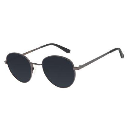 Óculos de Sol Unissex Chilli Beans Essential Redondo Fumê OC.MT.2517-0531