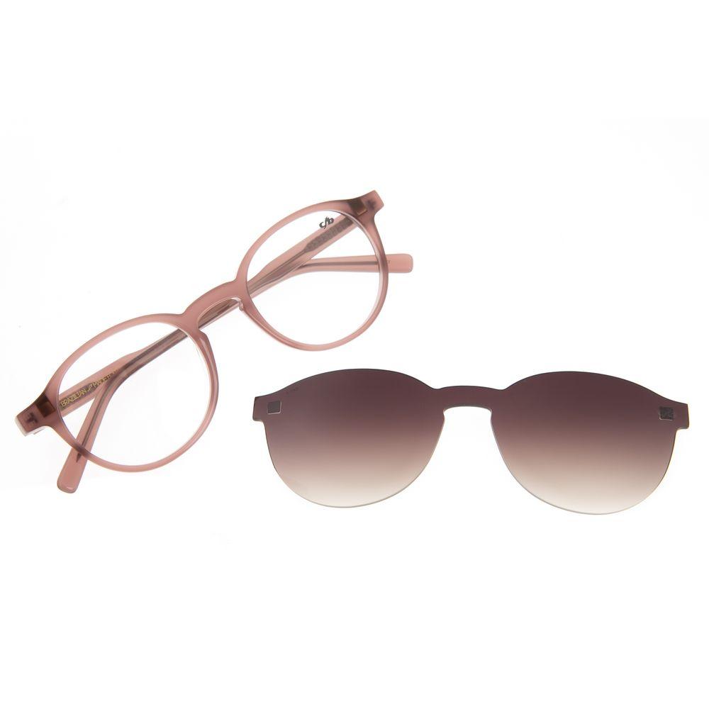 Armação Para Óculos de Grau Feminino Chilli Beans Casual Multi Rosé LV.MU.0549-5795