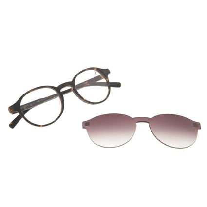 Armação Para Óculos de Grau Feminino Chilli Beans Casual Multi Tartaruga LV.MU.0549-2006