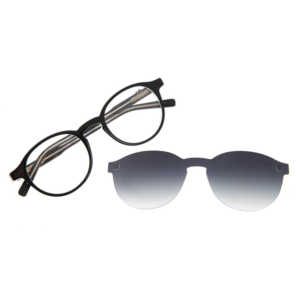 Armação Para Óculos de Grau Feminino Chilli Beans Casual Multi Preto LV.MU.0549-2001