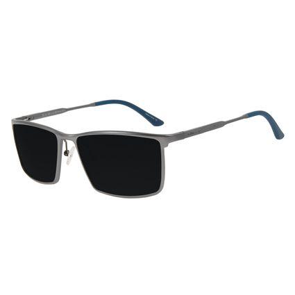 Óculos de Sol Masculino Chilli Beans Quadrado Esportivo AL Preto Polarizado OC.AL.0260-0122
