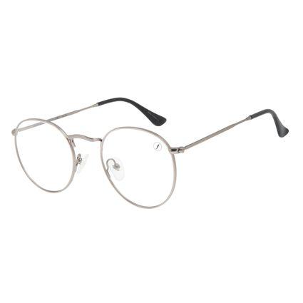Armação Para Óculos de Grau Unissex Chilli Beans Redondo Fosco Ônix LV.MT.0503-2222