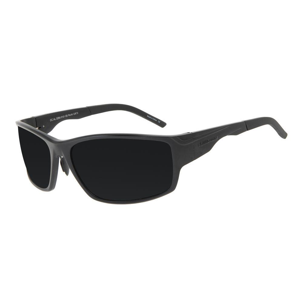 Óculos de Sol Masculino Chilli Beans Performance AL Polarizado Fosco OC.AL.0264-0131