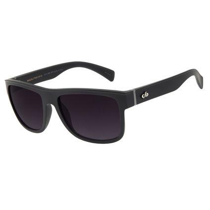 Óculos de Sol Masculino Chilli Beans Essential Quadrado TR90 Preto OC.CL.3257-2001