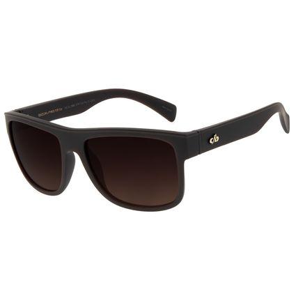 Óculos de Sol Masculino Chilli Beans Essential Quadrado TR90 Marrom Escuro OC.CL.3257-5747