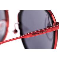 Óculos de Sol Unissex Disney Mickey Mouse Redondo Vermelho OC.CL.3312-0116.6