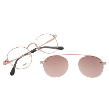 Armação Para Óculos de Grau Unissex Alok Tech In Style Multi Rosé Polarizado LV.MU.0533-5795