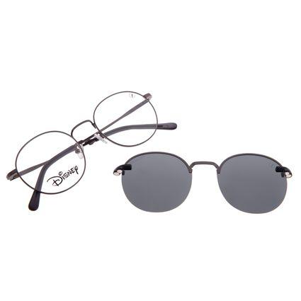 Armação Para Óculos de Grau Unissex Disney Mickey Mouse Multi Ônix Polarizado LV.MU.0541-0122