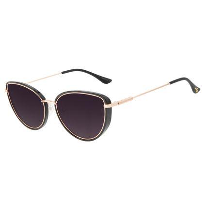 Óculos de Sol Feminino Alok Tech in Style Gatinho Dourado OC.CL.3298-2021