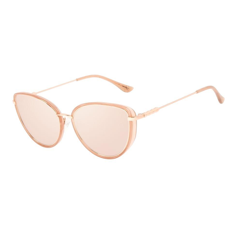 Óculos de Sol Feminino Alok Tech in Style Gatinho Rosé OC.CL.3298-2395