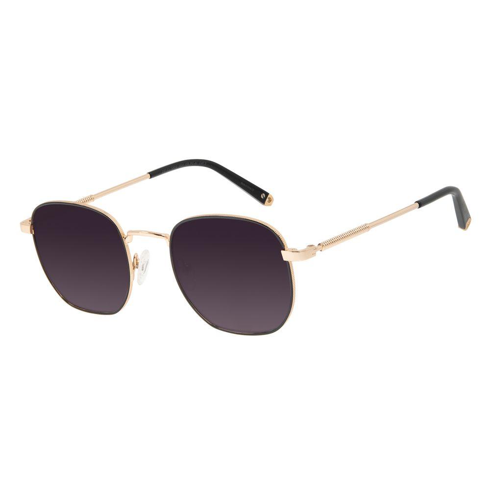 Óculos de Sol Unissex Alok Tech in Style Cabos Redondo Degradê OC.CL.3302-2021