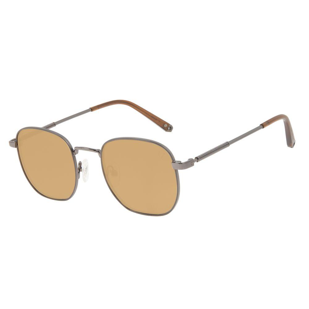 Óculos de Sol Unissex Alok Tech in Style Cabos Redondo Ônix OC.CL.3302-3222