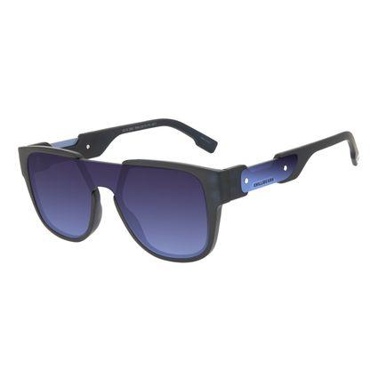 Óculos de Sol Masculino Alok Tech in Style Quadrado Azul OC.CL.3303-8308