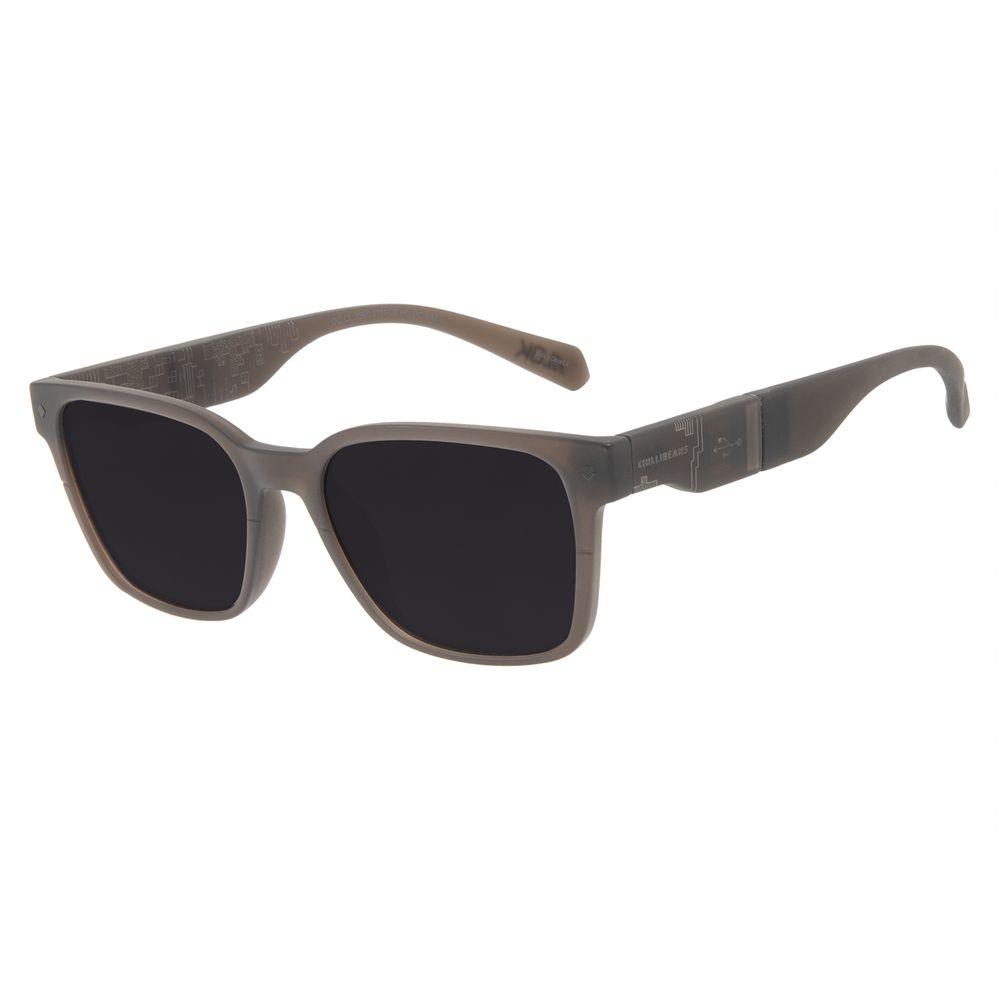 Óculos de Sol Masculino Alok Tech in Style Pen Drive Preto OC.CL.3360-0101