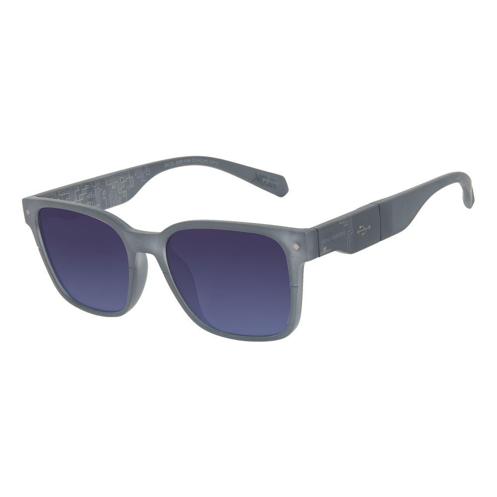 Óculos de Sol Masculino Alok Tech in Style Pen Drive Azul Escuro OC.CL.3360-8390