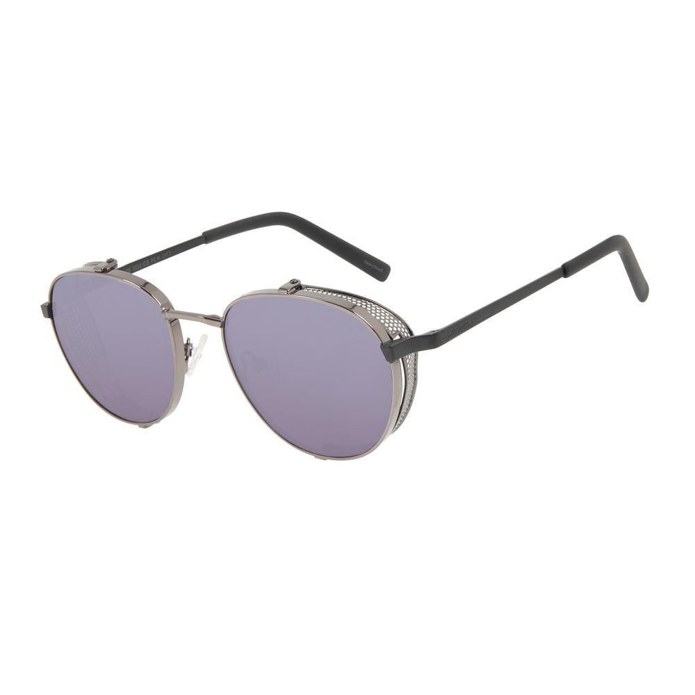 Óculos de Sol Unissex Alok Tech In Style Redondo Espelhado OC.MT.3109-3222