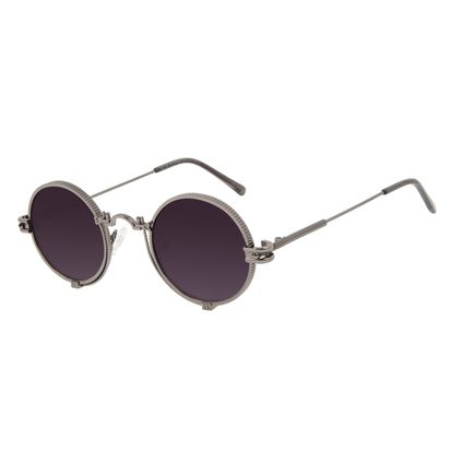 Óculos de Sol Unissex Alok Tech In Style Cyberpunk Ônix OC.MT.3110-2022