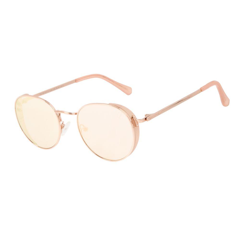Óculos de Sol Unissex Alok Tech In Style Flap Rosé Banhado a Ouro OC.MT.3113-2395