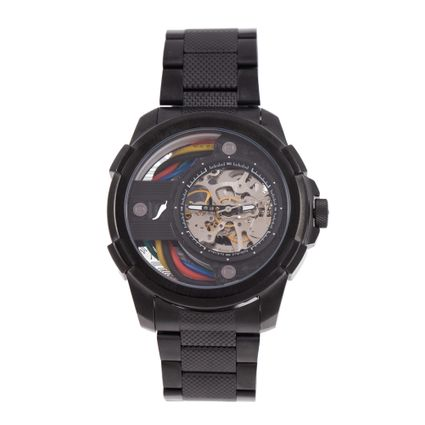 Relógio Automático Masculino Infinity Metal Preto RE.MT.1177-0101