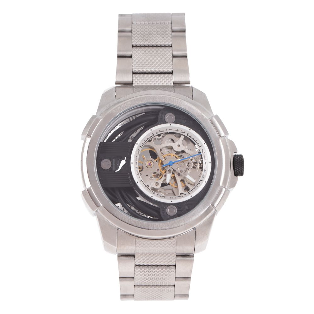 Relógio Automático Masculino Infinity Metal Prata RE.MT.1177-0107