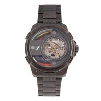 Relógio Automático Masculino Infinity Metal Ônix RE.MT.1177-2222