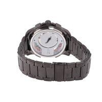 Relógio Automático Masculino Infinity Metal Ônix RE.MT.1177-2222.2