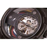 Relógio Automático Masculino Infinity Metal Ônix RE.MT.1177-2222.5
