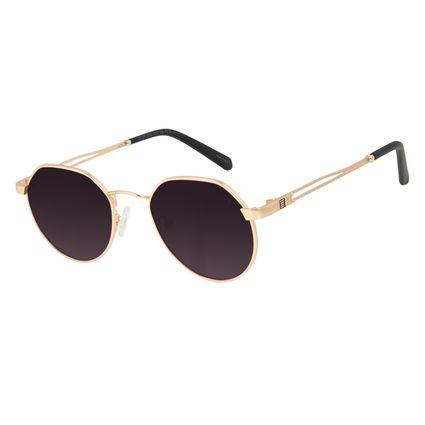 Óculos de Sol Unissex Alok Tech in Style Clássico Redondo Degradê OC.MT.3106-2021