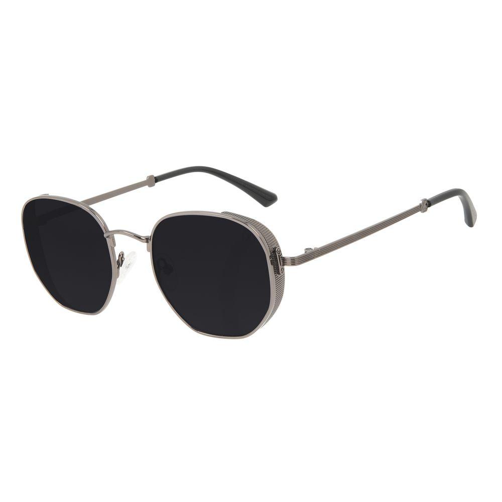 Óculos de Sol Unissex Alok Tech in Style Casual Flap Ônix OC.MT.3111-0122