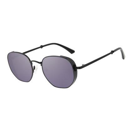 Óculos de Sol Unissex Alok Tech in Style Casual Flap Preto OC.MT.3111-3201