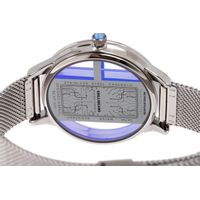 Relógio Digital Feminino Infinity Translúcido Metal Prata RE.MT.1173-0707.5