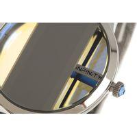 Relógio Digital Feminino Infinity Translúcido Metal Prata RE.MT.1173-0707.7