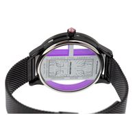 Relógio Digital Feminino Infinity Translúcido Metal Preto RE.MT.1173-0101.5